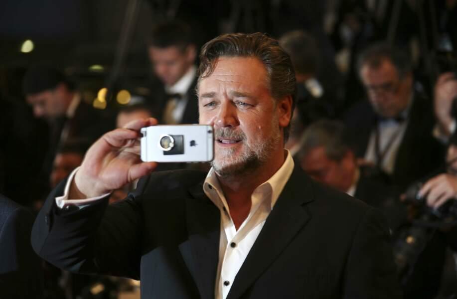 Russell Crowe a tenu à immortaliser ce moment