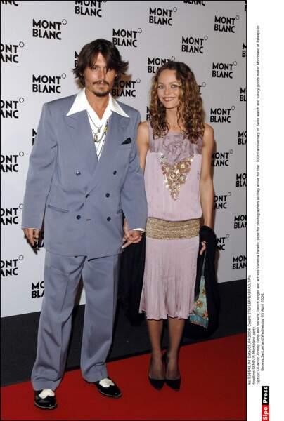 En 1998, l'acteur tombe fou amoureux de la française Vanessa Paradis
