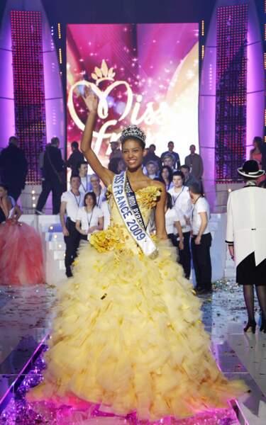 Miss France 2009 : Chloe Mortaud (Miss Albigeois Midi-Pyrénées)