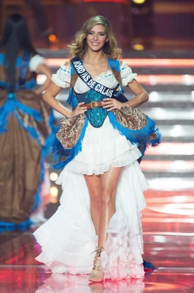 Camille Cerf, Miss Pas-de-Calais, en mode cowgirl !