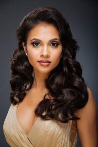 C'est Kimberly Farrah Singh qui représente Trinité-et-Tobago