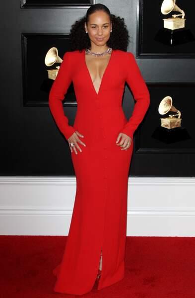 Alicia Keys, la maîtresse de cérémonie des Grammy Awards 2019