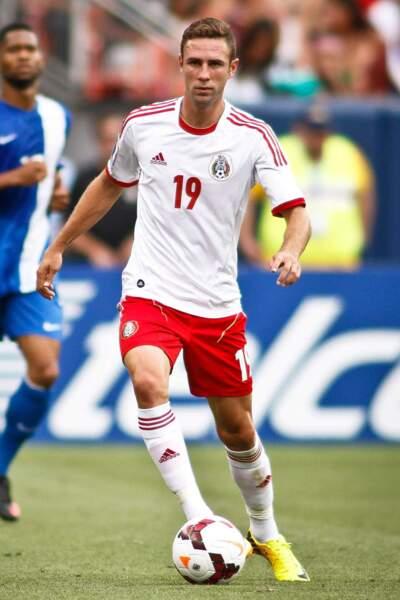 Son compatriote Miguel Layún (qui a également la nationalité espagnole), 25 ans