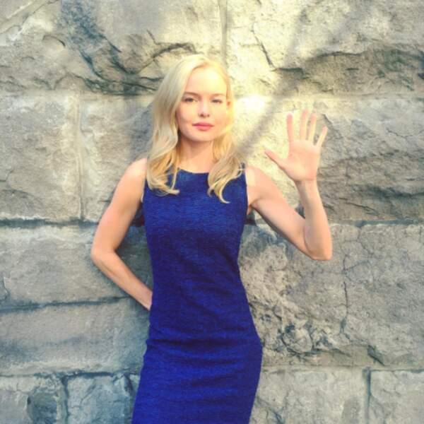 Bonjour Kate Bosworth !