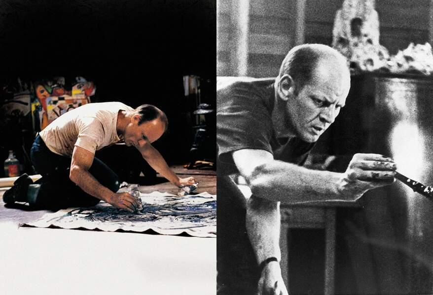 Il s'agit du New-Yorkais Jackson Pollock. Il y a quelque chose, non ?