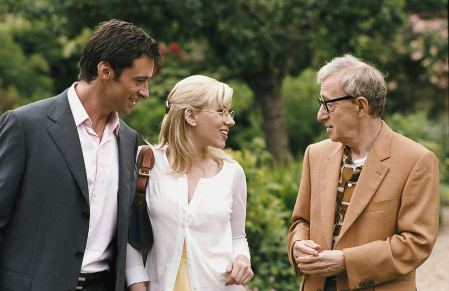 Au côté de Scarlett Johansson et Woody Allen dans Scoop (2006)