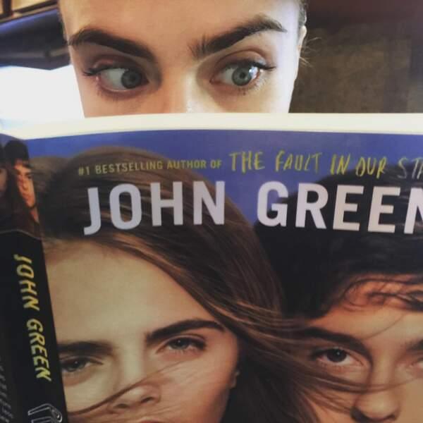 Et rassurez-vous Cara a bien lu le livre. Une adaptation fidèle au roman ?