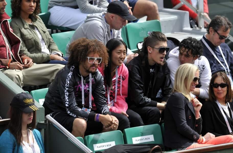 Hier, à Roland, il y avait aussi des people avec RedFoo, des LMFAO, l'amoureux de Victoria Azarenka !