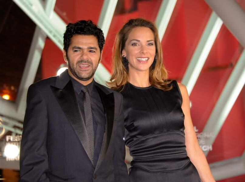 Mélissa Theuriau et Jamel Debbouze lors de la 13e édition du Festival de Marrakech