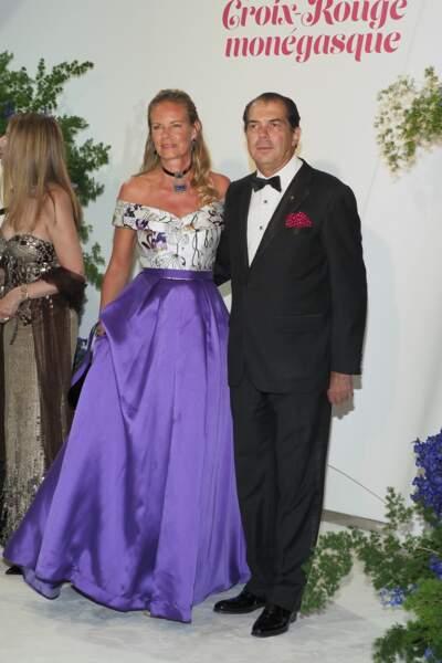 Le Prince Charles-Emmanuel de Bourbon-Parme et la Princesse Constance de Bourbon-Parme au gala de la Croix Rouge