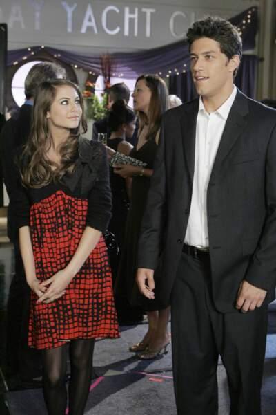 Dans les saisons 3 et 4, Willa Holland incarne Kaitlin, la soeur de Marissa