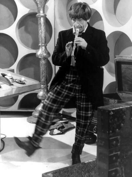 Patrick Troughton est le 2ème Doctor Who, il jouera les seigneurs du temps de 1966 à 1969