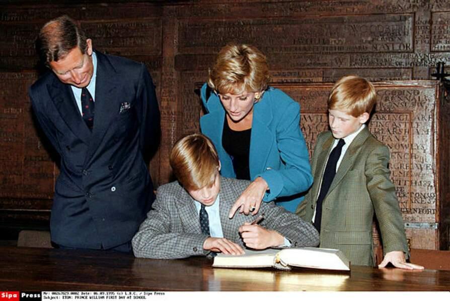 En 1995, William intègre le prestigieux collège d'Eton. Les choses très sérieuses commencent… et l'internat aussi !