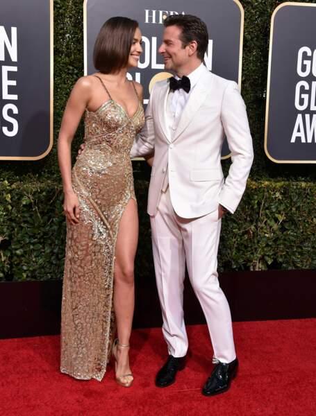 Il est l'un des nouveaux rois d'Hollywood : Bradley Cooper et sa compagne Irina Shayk