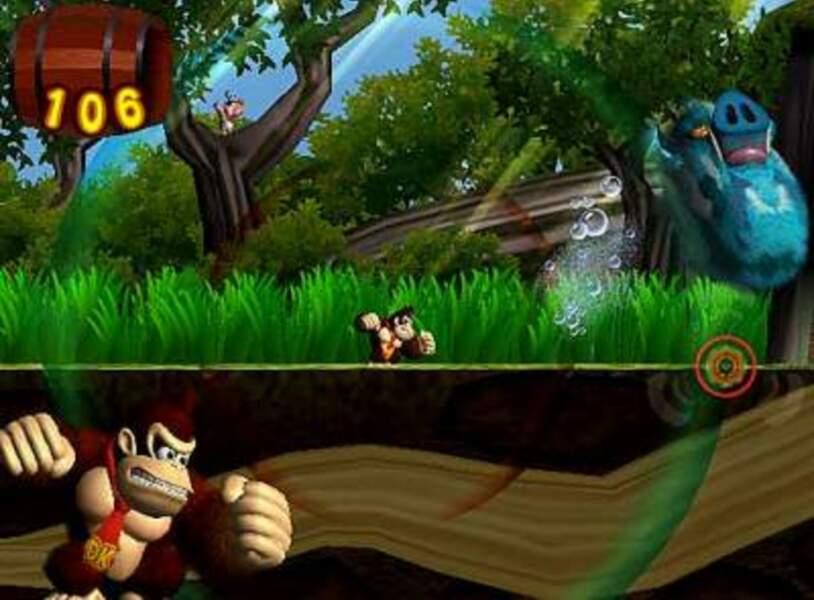 Donkey Kong Jungle Beat - GameCube (2004)