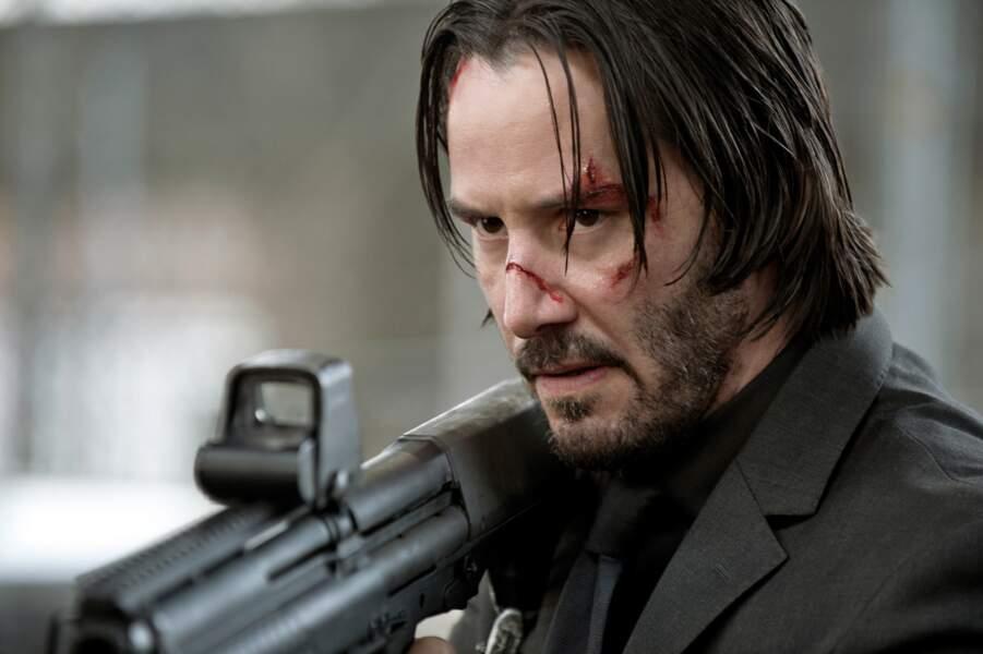 Keanu Reeves n'a pas pris une ride... dans John Wick (2014), incroyable !