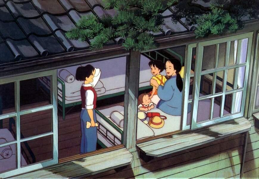 Mon voisin Totoro (1988) : Miyazaki tient à mettre en scène la culture japonaise traditionnelle