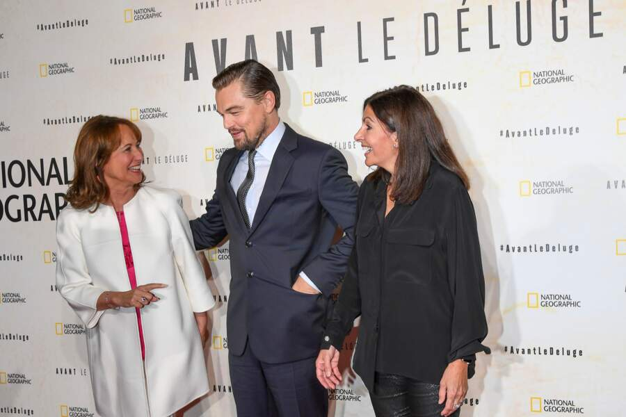 """""""Pardon Monsieur DiCaprio, on peut prendre une photo avec vous ?"""" dit Ségolène Royal"""