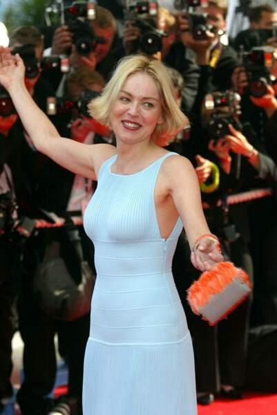 Sur le tapis rouge de Cannes en 2002, en tant que membre du jury