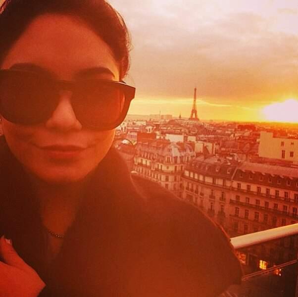 Sous le soleil couchant de Paris