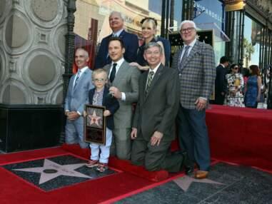 Chris Pratt avec femme et enfant pour dévoiler son étoile sur Hollywood Boulevard