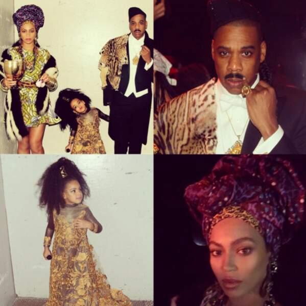 Beyoncé, Jay-Z et Blue représentaient un autre film : Un Prince à New York.