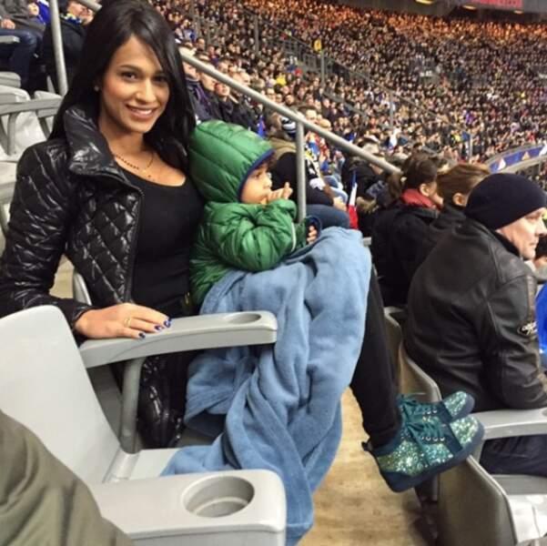 Milan, le fils de Luiz Gustavo vient aussi au stade. La relève est-elle déjà assurée ?