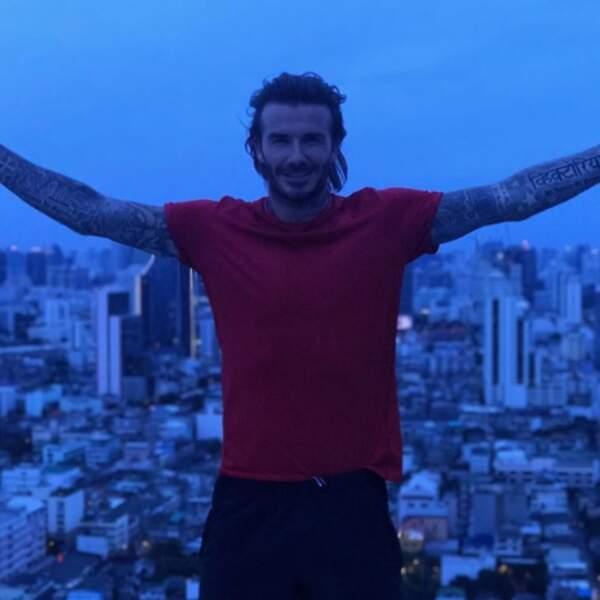 Pendant ce temps, David Beckham s'éclate en Thaïlande et clôt notre diaporama Instagram...