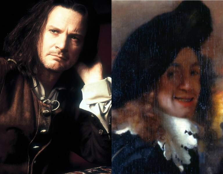 … L'artiste Vermeer, dans La jeune fille à la perle. Franchement, il est beaucoup plus beau !