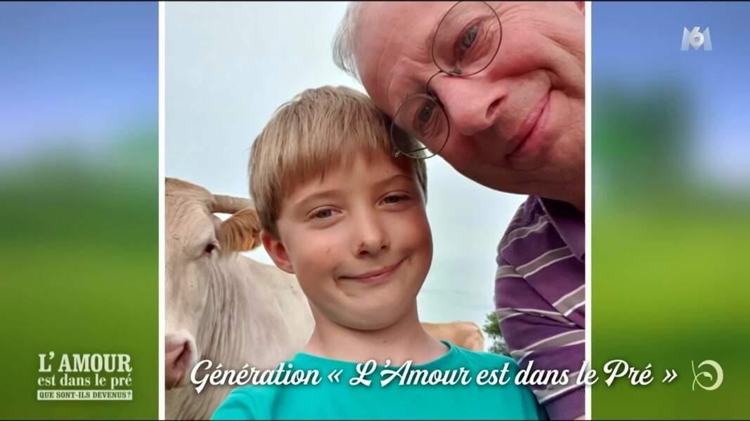 Denis, éleveur vendéen de la saison 4, est devenu papa de Théo il y a huit ans !