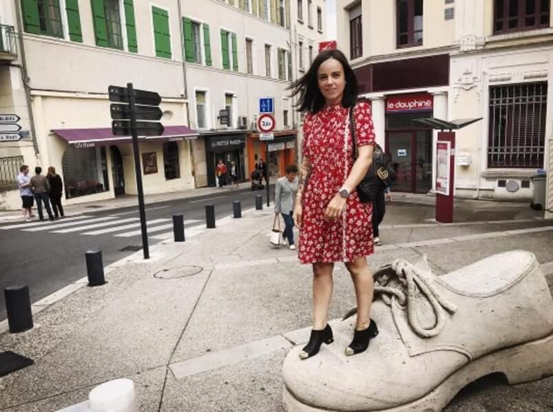 Alizée a enfin trouvé chaussure à son pied à Romans-sur-Isère.