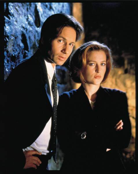 X-Files : Mulder et Scully = David Duchovny et Gillian Anderson. Point barre !