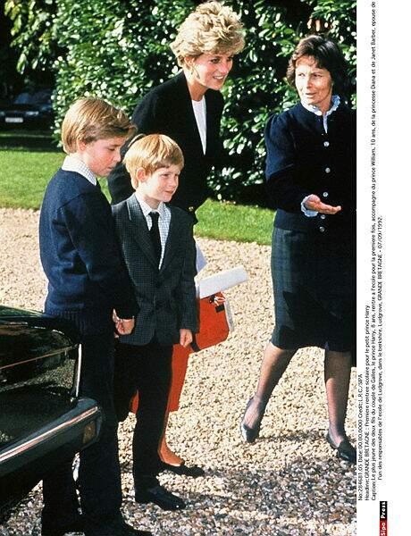 En 1992, la rentrée est une formalité pour les deux petits princes