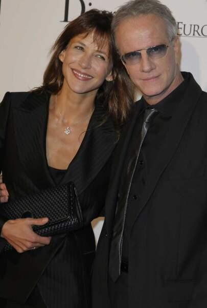 Sophie Marceau et Christophe Lambert se séparent en bons termes en août 2014, après 7 ans de vie commune.