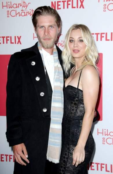 """Ainsi que la comédienne Kaley Cuco, de la série """"The Big Bang Theory"""", et Karl Cook"""