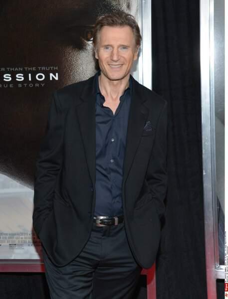 """4 ans plus tard elle emménage avec Liam Neeson de 15 ans son aîné, rencontré sur le tournage de """"Satisfaction"""""""