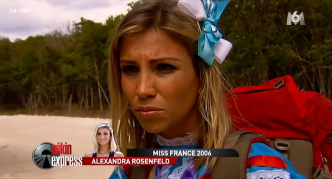 Même Alexandra doit se déguiser