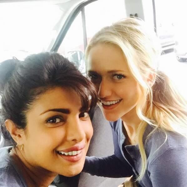 Priyanka a l'air très proche de Johanna Braddy, vue récemment dans la série UnReal