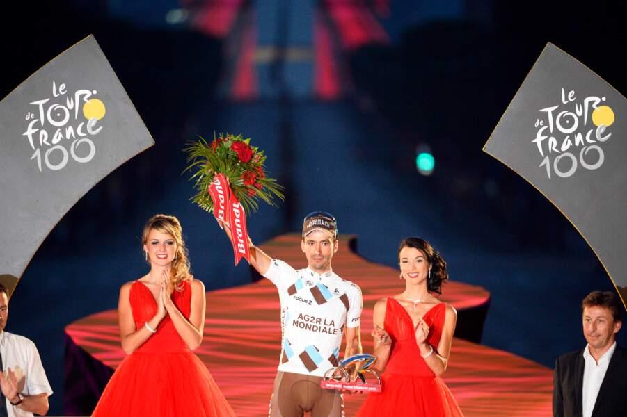 Christophe Riblon remporte le prix du super combatif