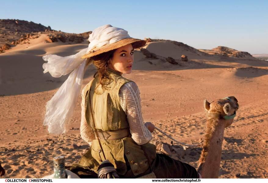 Elle devient Adèle Blanc Sec pour Luc Besson, joue dans divers comédies romantiques