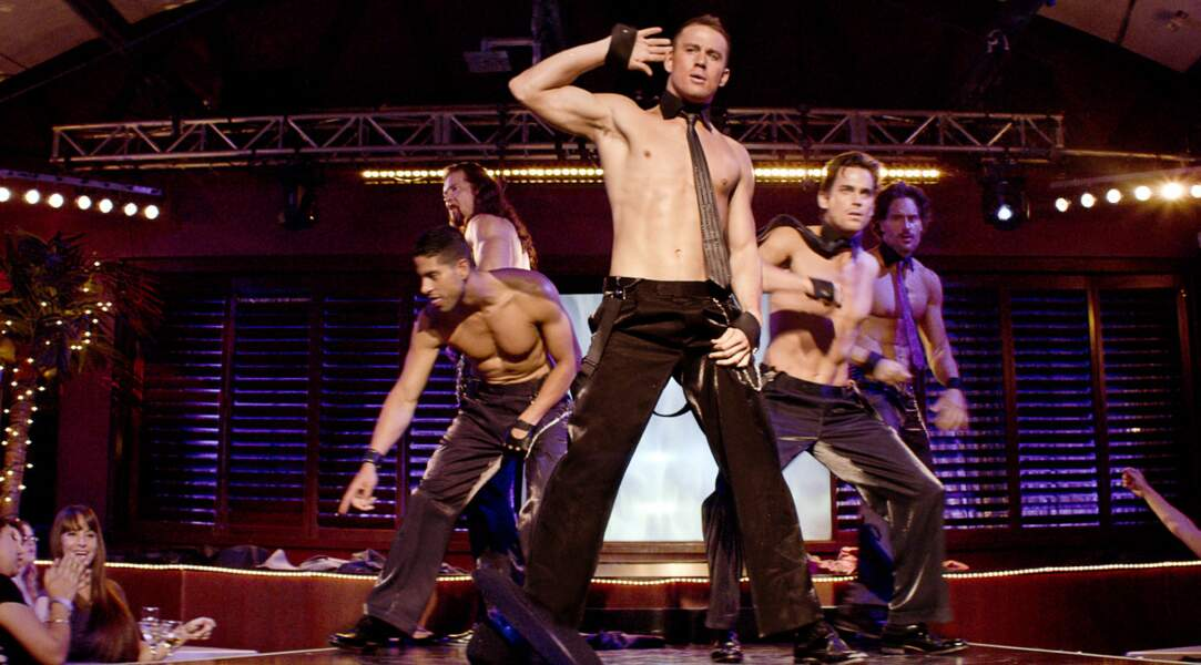 Le plus viril : Channing Tatum, très mâle très bien, retrouve son ancien métier dans Magic Mike.