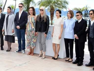 Jane Campion et les membres du jury du 67ème Festival de Cannes