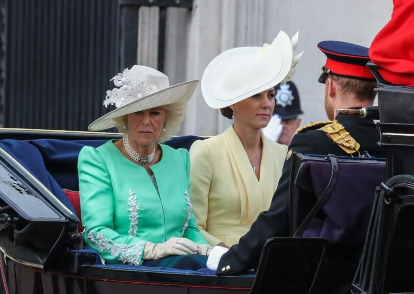 Camilla Parker-Bowles et Kate Middleton