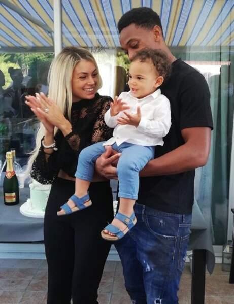 Mélanie Da Cruz et Anthony Martial sont les parents du petit Swan