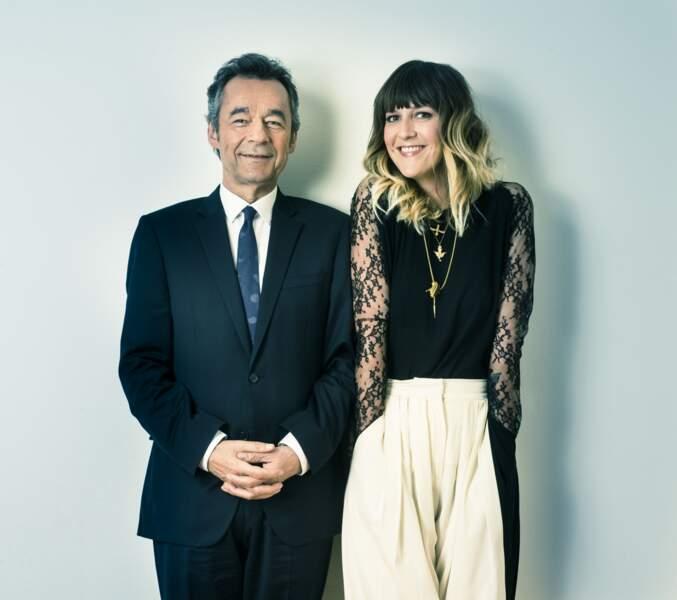 Michel Denisot et Daphné Bürki, le tandem de choc