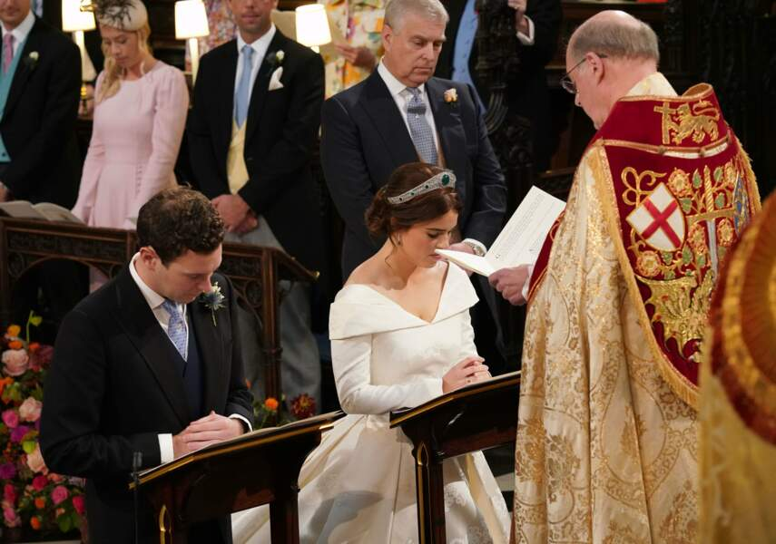 La princesse Eugenie et Jack Brooksbank