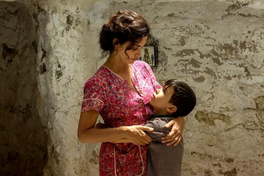 Pénélope Cruz y interprète la mère du réalisateur