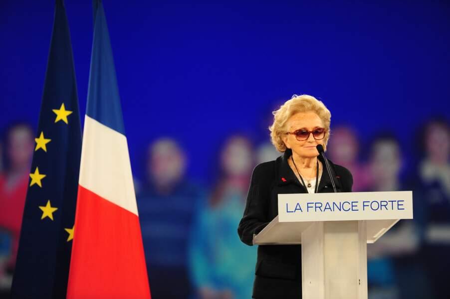 En 2012 lors de l'élection présidentielle, elle se range auprès de Nicolas Sarkozy