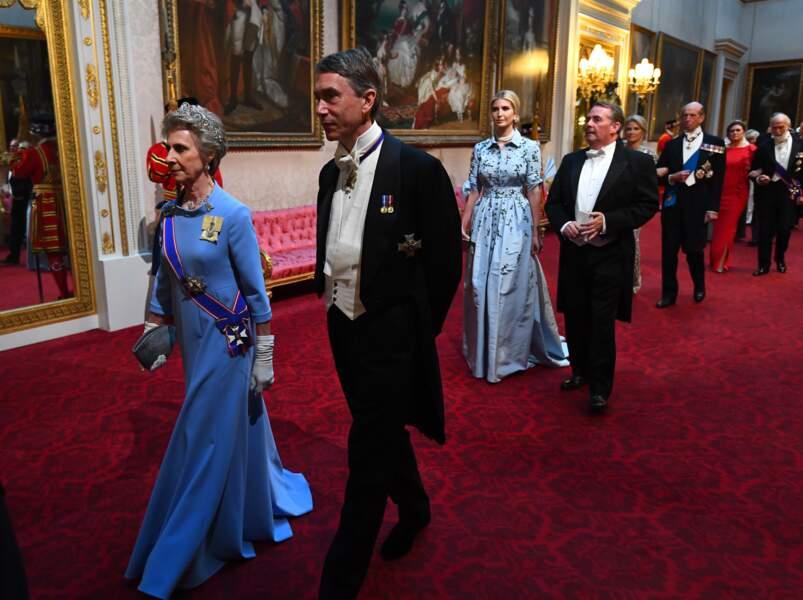 Ivanka Trump rayonne sous les ors du palais