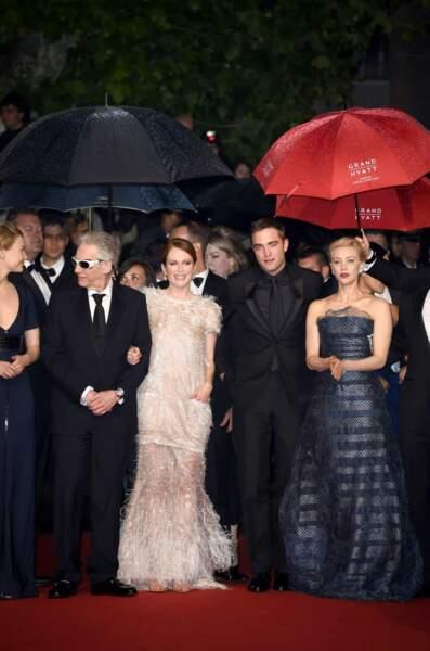Et oui, ça fait tout de suite moins rêver, mais il a plu hier, à Cannes...